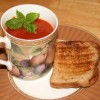 Thoughtless Thursday: Fiery Roasted Tomato-Red Pepper Soup