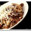 Turkey Sausage Bolognese