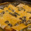 Beef and Black Bean Enchiladas: Now and Later
