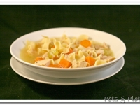 Seriously Comforting Chicken Noodle Soup