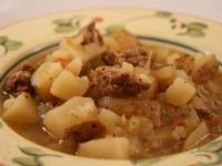 Thoughtless Thursday: Tuscan Potato Soup I
