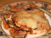 Eggplant and Zucchini Noodleless Lasagna