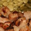 Garlic Ginger Pork Skewers