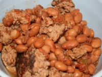 Thoughtless Thursdays: Pintos and Sausage