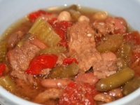 Thoughtless Thursday: I'm Feeling Pitiful Beef Vegetable Soup