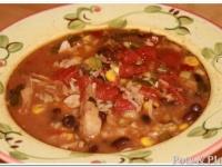 Thoughtless Thursday: Baja Chicken Enchilada Soup
