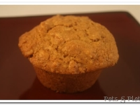 Whole Grain Sweet Potato Muffins