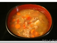 Thoughtless Thursday: Tuscan Potato Soup II (Lightened)