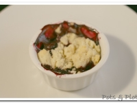 Individual Blueberry Crisp