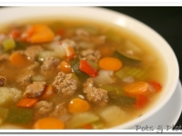 Thoughtless Thursday: Tuscan Vegetable Soup