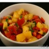 Peach and Pepper Salsa