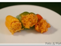 Mini Stuffed Sweet Peppers