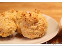 Smoked Cheddar Drop Biscuits