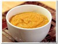 Spicy Butternut Squash Sweet Potato Soup