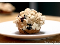 Gluten Free Friday: Blueberry Muffins with Crumble Topping