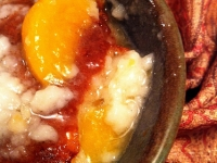 Gluten Free Friday: Gluten Free Peach Cobbler