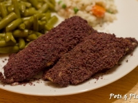 Gluten Free Friday: Blue Corn Crusted Tilapia