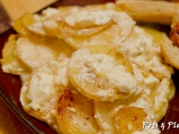 Goat Cheese Au Gratin Potatoes