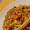 Vegetable Lo Mein with Soba Noodles