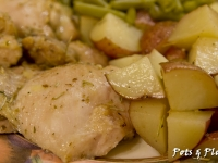 Mix It Up Monay: Crispy Rosemary Chicken and Potatoes