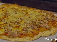 Barbeque Pulled Pork Pizza