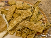 Gluten Free Friday: Baked Eggplant Fries