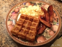 Totwaffles: Tater Tots In The Waffle Iron