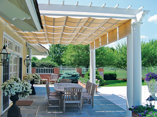 Patio envy and backyard diy projects for Shade arbor designs